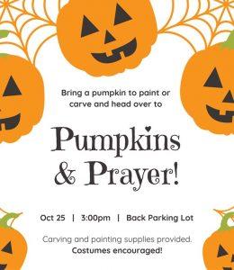 Pumpkins and Prayer @ JIPC- Back Parking Lot